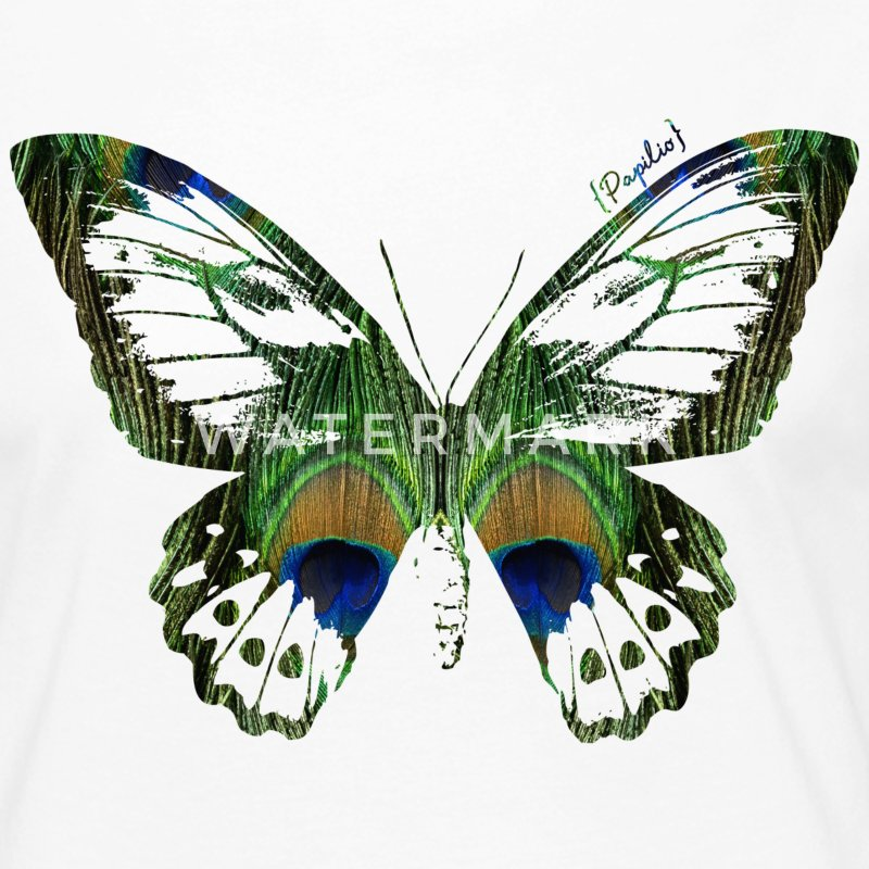 Animal Planet Frauen Langarmshirt Schmetterling - Frauen Premium Langarmshirt