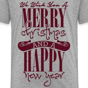 We wish you a merry christmas and a happy new year Shirts - Kids' Premium T-Shirt