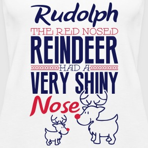 Rudolph the red nosed reindeer Top - Canotta premium da donna