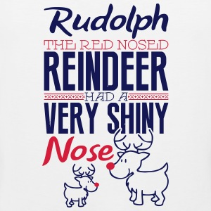 Rudolph the red nosed reindeer Tank Tops - Men's Premium Tank Top