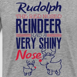Rudolph the red nosed reindeer Tee shirts - T-shirt Premium Homme