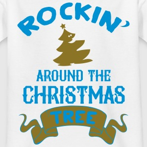 Rockin around the christmas tree T-Shirts - Kinder T-Shirt