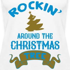 Rockin around the christmas tree Tops - Women's Premium Tank Top