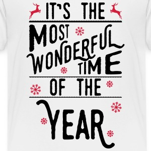 It's the most wonderful time of the year Shirts - Teenage Premium T-Shirt