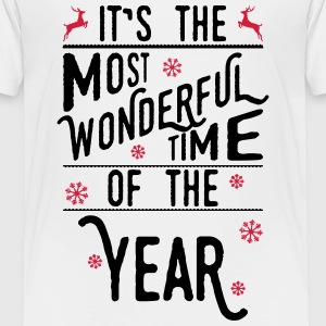 It's the most wonderful time of the year T-Shirts - Kinder Premium T-Shirt