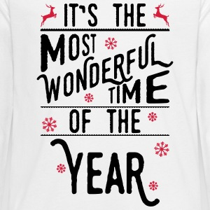 It's the most wonderful time of the year Long Sleeve Shirts - Teenagers' Premium Longsleeve Shirt