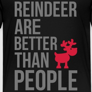 Reindeer are better than people Shirts - Kids' Premium T-Shirt