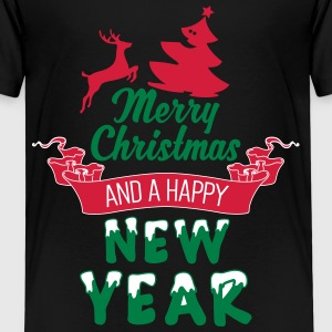 Merry Christmas and a Happy new Year Shirts - Kinderen Premium T-shirt