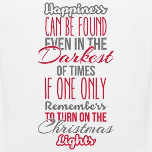 Happiness can be found even in the darkest of time Tanktops - Mannen Premium tank top