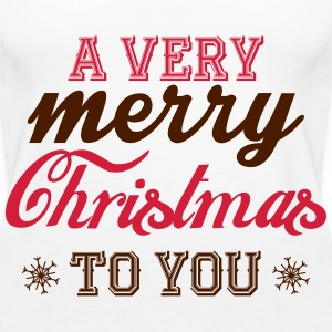A very merry christmas to you! Tops - Women's Premium Tank Top
