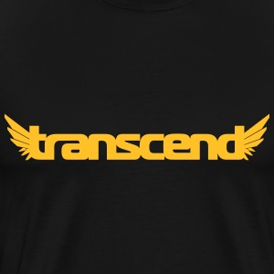 Transcend T-Shirt - Men's - Orange Print - Men's Premium T-Shirt