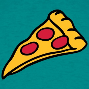pizza salami cheese design T-Shirts - Men's T-Shirt