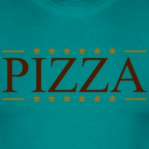 Pizza banner crest lækker king Favorit Food salami T-shirts - Herre-T-shirt