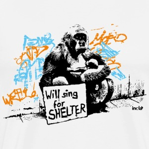 INOLA - will sing for shelter - Männer Premium T-Shirt