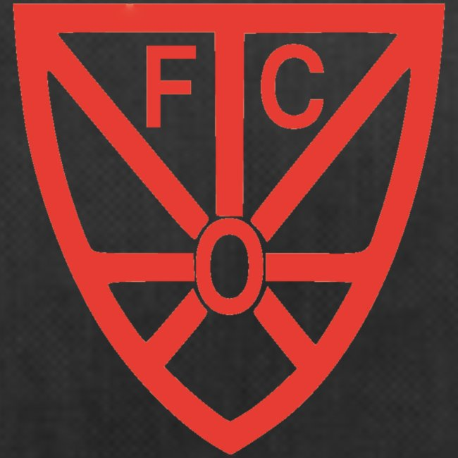 Sporttasche verschiedene Farben - mit FCO-Logo und FCO-Schriftzug rot