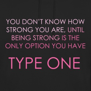 You Don't Know How Strong You Are - Pink Hoodies & Sweatshirts - Unisex Hoodie