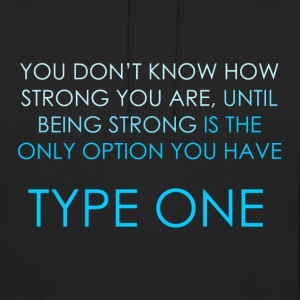 You Don't Know How Strong You Are - Blue Hoodies & Sweatshirts - Unisex Hoodie
