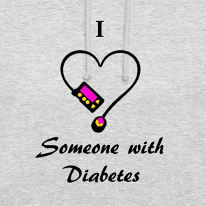 I Love Someone With Diabetes - Pump 1- P/O Hoodies & Sweatshirts - Unisex Hoodie