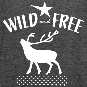 wild and free Tops - Women's Tank Top by Bella