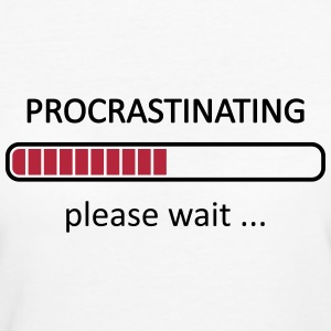 Procrastinating Please Wait T-Shirts - Women's Organic T-shirt