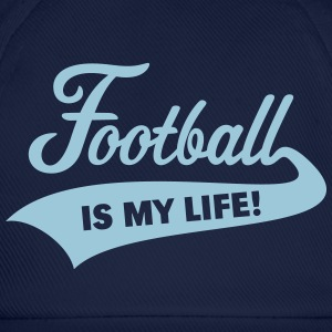 Football Is My Life! Caps & Hats - Baseball Cap