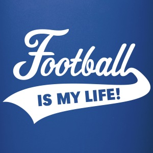 Football Is My Life! Mugs & Drinkware - Full Colour Mug