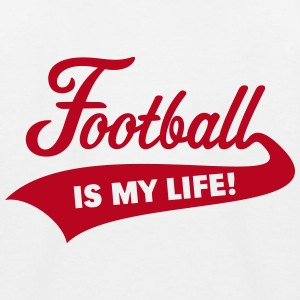 Football Is My Life! T-Shirts - Kinder Baseball T-Shirt