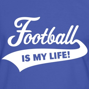 Football Is My Life! T-Shirts - Men's Ringer Shirt