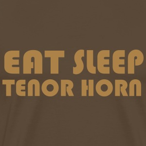 Eat Sleep Tenor Horn Tee shirts - T-shirt Premium Homme