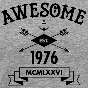 Awesome Est. 1976 Tee shirts - T-shirt Premium Homme