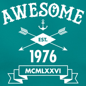 Awesome Est. 1976 T-Shirts - Frauen T-Shirt