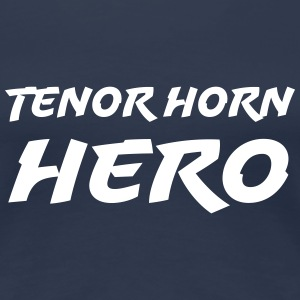 Tenor Horn Hero T-Shirts - Frauen Premium T-Shirt
