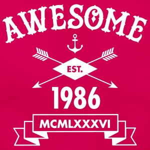 Awesome Est. 1986 T-shirts - T-shirt dam