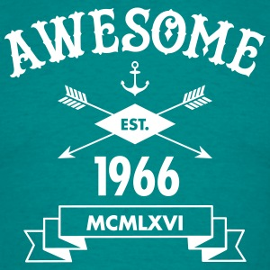 Awesome Est. 1966 T-shirts - Herre-T-shirt