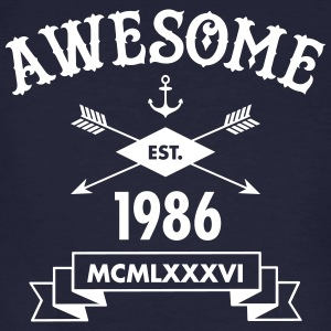 Awesome Est. 1986 Tee shirts - T-shirt bio Homme