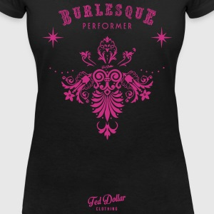 Burlesque Performer vecto Tee shirts - T-shirt col V Femme