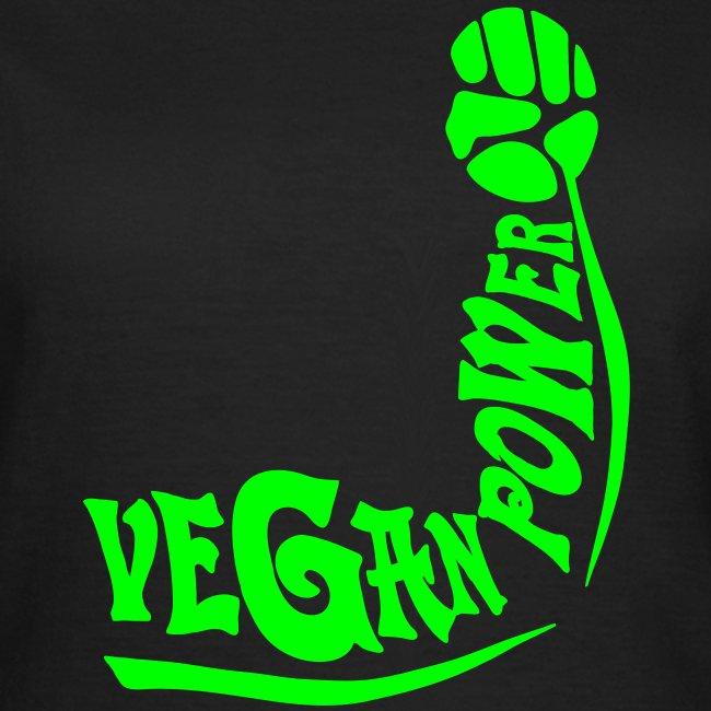 Vegan Power Neon / Flexdruck