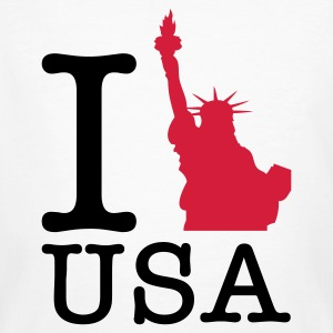 I love the USA T-Shirts - Men's Organic T-shirt