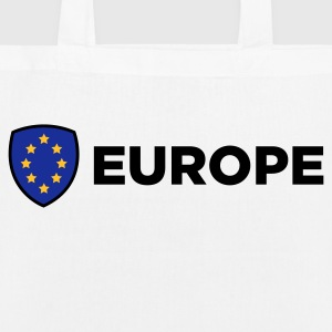 The Union Flag of Europe Bags & Backpacks - EarthPositive Tote Bag
