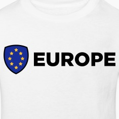 The Union Flag of Europe Shirts