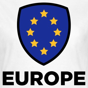 Unionen Flag of Europe T-shirts - Dame-T-shirt