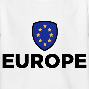 Unionen Flag of Europe T-shirts - Børne-T-shirt