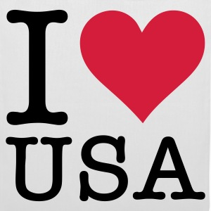 I love the USA! Bags & Backpacks - Tote Bag