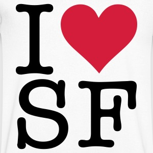 I love San Francisco! T-Shirts - Men's V-Neck T-Shirt