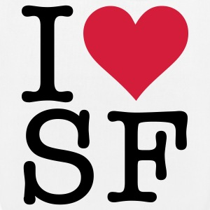 I love San Francisco! Bags & Backpacks - EarthPositive Tote Bag