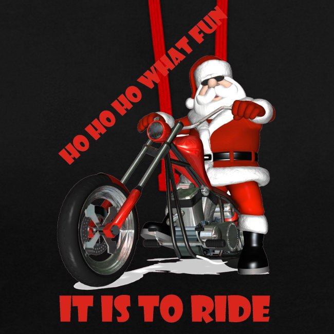 Ho Ho Ho what fun it is to ride