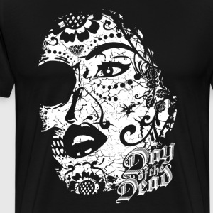 Sugar Lady - Day of the Dead T-Shirts - Männer Premium T-Shirt