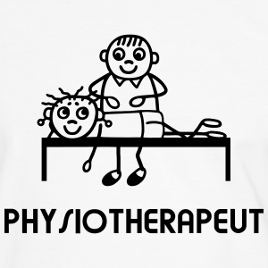 Physiotherapeut Physiotherapie T-Shirts - Männer Kontrast-T-Shirt