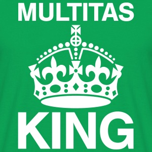 Multi-tasking Crown T-shirts - Mannen T-shirt