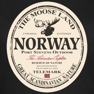 Norway Moose T-Shirts - Frauen T-Shirt